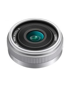 Panasonic 14mm f2.5 G ASPH. II Lens (Silver)