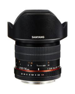 Samyang 14mm f2.8 ED AS IF UMC MF Lens (Canon EF)