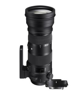 Sigma 150-600mm f5-6.3 DG OS HSM SPORTS Lens & 1.4x TeleConverter TC-1401 (Nikon FX Fit)