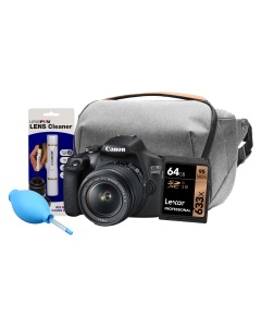 Canon EOS 2000D DSLR Camera & 18-55mm IS II Exclusive Kit