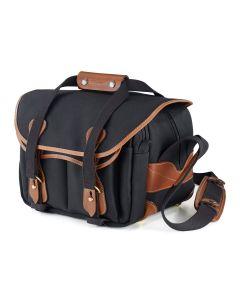 Billingham 225 Camera Bag (Canvas Black & Tan)