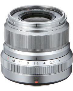 Fujifilm 23mm f2 R XF WR Lens (Silver)