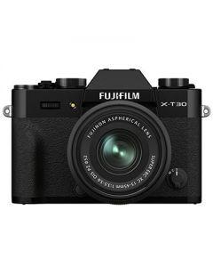 Fujifilm X-T30 II Mirrorless Camera & 15-45mm XC Lens (Black)