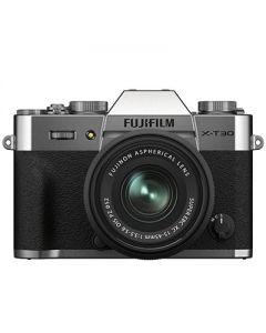 Fujifilm X-T30 II Mirrorless Camera & 15-45mm XC Lens (Silver)