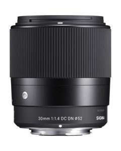 Sigma 30mm f1.4 DC DN Contemporary Lens (Canon EF-M Mount)