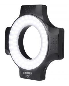 Kaiser R60 LED Ring Light (3252) uses AA batteries