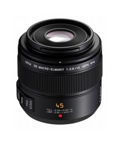 Panasonic 45mm f2.8 LEICA DG MACRO-ELMARIT MEGA OIS Lens