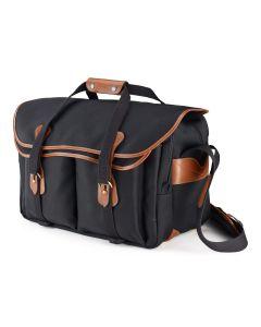 Billingham 555 Camera Bag (Canvas Black & Tan)