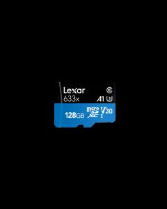 Lexar 128GB 633x High Performance Micro SDXC UHS-I Memory Card