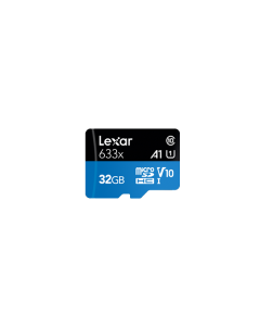Lexar 32GB 633x High Performance Micro SDHC UHS-I Memory Card