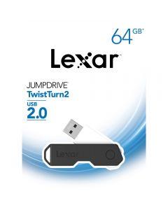 Lexar 64GB JumpDrive TwistTurn2 USB Flash Drive