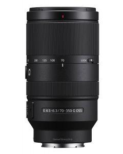 Sony 70-350mm f4.5-6.3 G OSS E Telephoto Zoom Lens (SEL70350G)