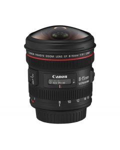 Canon 8-15mm f4L Fisheye USM EF Lens