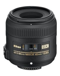 Nikon 40mm f2.8G AF-S NIKKOR DX Micro