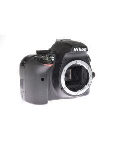 Used Nikon D3300 DSLR Camera Body (4,000 Shutter Count)