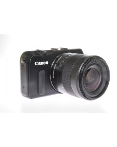 Used Canon EOS M Mirrorless Camera & 18-55mm IS STM Lens