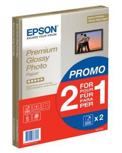 Epson A4 Premium Glossy Photo Paper 2-4-1