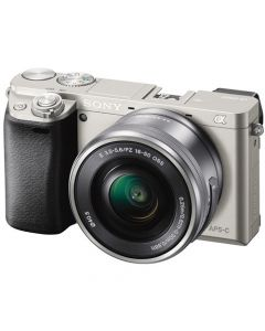 Sony A6000 Mirrorless Camera & 16-50mm Power Zoom Lens Kit (Silver)