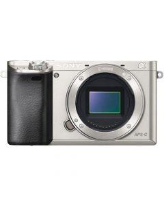 Sony A6000 Mirrorless Camera Body (Silver)