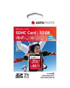 AgfaPhoto 32GB SDHC Class 10 Memory Card