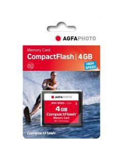 AgfaPhoto 4GB 120x Compact Flash Memory Card