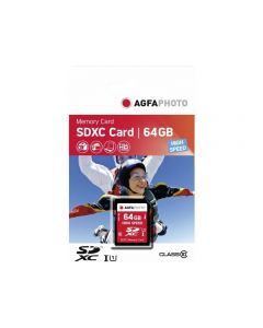 AgfaPhoto 64GB SDHC Class 10 Memory Card