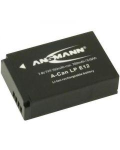 Ansmann Canon LP-E12 Digital Camera Battery for EOS M50, M200, 100D, M100, M10