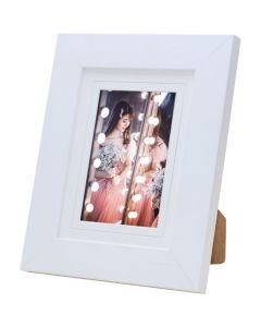 "Avoset White Wood Picture Frame (7x5"")"