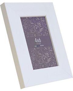 "Avoset White Wood Picture Frame (6x4"")"