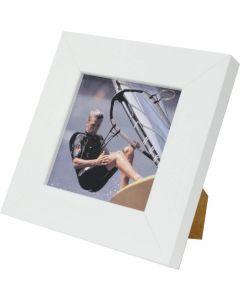 "Avoset White Wood Picture Frame (6x6"")"