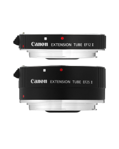 Canon EF12 II & EF25 II Macro Extension Tube twin Set