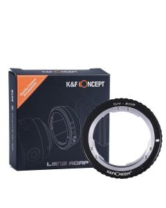 K&F Mount Adapter: Contax/Yashica (C/Y) Lens to Canon EF Body
