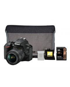 Nikon D3500 DSLR Camera & 18-55mm AF-P VR Lens Bundle Kit
