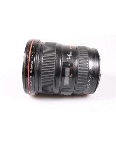 Used Canon 17-40mm F4 L USM EF Zoom Lens