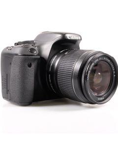 Used Canon EOS 600D DSLR Camera & 18-55mm EFS Lens (Shutter Count 3,800)