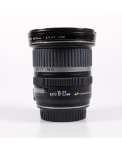 Used Canon 10-22mm f3.5-4.5 USM EF-S Lens