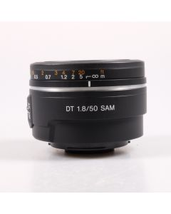 Used Sony 50mm f1.8 DT SAM Lens (Sony A/Minolta AF Fit)