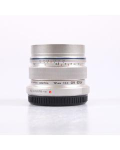 Used Olympus 12mm f2 M.ZUIKO DIGITAL ED Lens