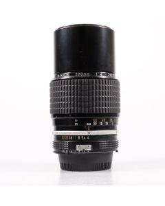 Used Nikon 200mm F4 AI Telephoto Lens