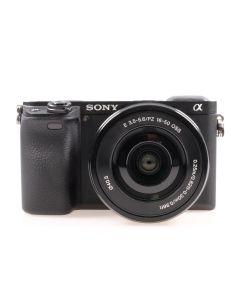 Used Sony A6300 Mirrorless Camera & 16-50mm E OSS Zoom Lens