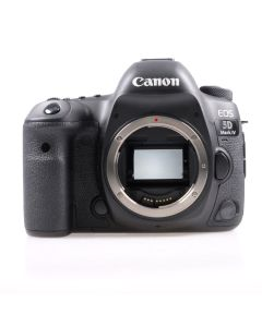 Used Canon EOS 5D Mark IV DSLR Camera Body