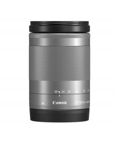 Canon 18-150mm f3.5-6.3 EF-M IS STM Lens (Silver)