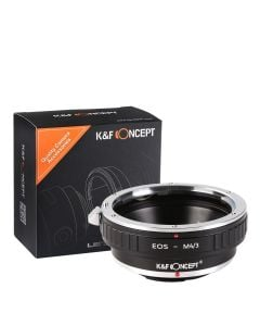 K&F Mount Adapter: Canon EF Lens to Micro FourThirds Body