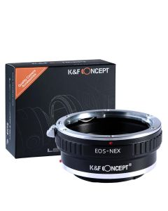K&F Mount Adapter: Canon EF Lens to Sony E-Series Body