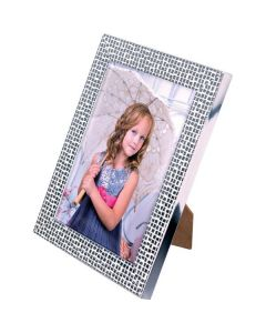 """Essex Silver Picture Frame (10x8"""")"""