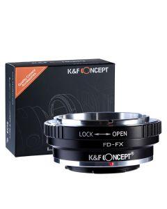 K&F Mount Adapter: Canon FD/FL Lens to Fujifilm X-Series Body