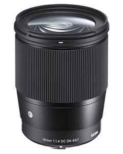 Sigma 16mm f1.4 DC DN Contemporary Lens (Canon EF-M Mount)