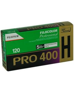 Fujifilm Fujicolor Pro 400H 120 Format Film (Pack Of 5)