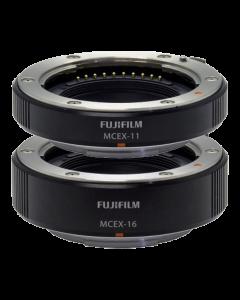 Fujifilm MCEX-11 & MCEX-16 Macro Extension Tube Set