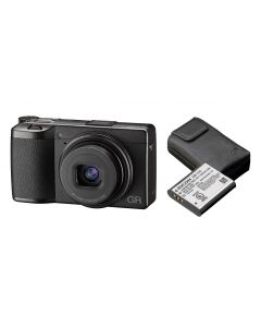 Ricoh GR III Digital Compact Camera Complete Kit